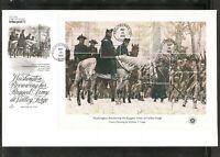 US SC # 1686-1689 Bicentennial Souvenir Sheet of 5 FDC . Artcraft Cachet