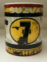 Barry Sheene Oil Can look Gift Mechanic Gift Tea Coffee vintage distressed