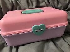 Vintage Fairy Kei Caboodle Jewelry Accessory Case Box 1980's