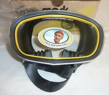 Vintage NOS US Divers Atlantis Dive Mask Jacques Cousteau