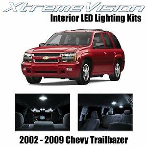 XtremeVision Interior LED for Chevy Trailblazer 2002-2009 (16 PCS) Pure White
