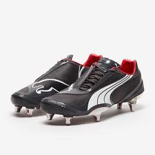 Puma Men's V1.08 SG Football Boots - Black - New