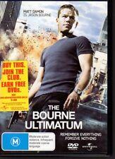 THE BOURNE ULTIMATUM - DVD R4 (2007) Matt Damon  LIKE NEW - FREE POST