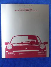 Porsche 911 Carrera Typ 964 - Preisliste MJ 1990 - Prospekt Brochure 08.1989