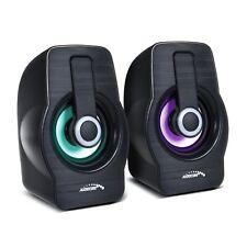 Computer luidsprekers 6W USB  2.0 Black Audiocore AC855 B speakers