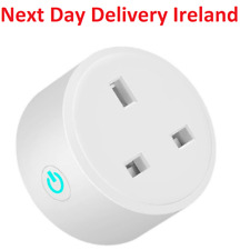 WiFi Smart Plug Socket UK Home Timer Power Switch Remote Control Alexa Amazon