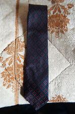 Paul Smith Mens Silk Tie,Genuine,black/red design,stylish,good condition