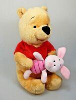 Winnie the Pooh mit Ferkelchen Plüsch Figur ca. 31 cm Disney