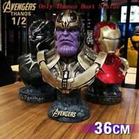 Avengers Infinity War Thanos 1/2 Bust Resin Statue Figure Collectible Toys Gifts