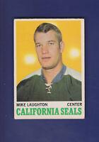 Mike Laughton 1970-71 O-PEE-CHEE OPC Hockey #74 (VGEX) California Golden Seals