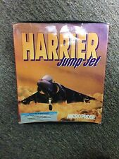 Harrier Jump Jet by Microprose Boxed PC Game 3.5 inch disks Big Box Retro PC