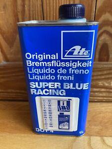RARE ATE Super Blue Fluid - DOT4 - SEALED NEVER OPENED - FREE SHIP
