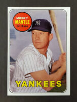 1969 Topps #500 Mickey Mantle - Last Year Card - Yankees