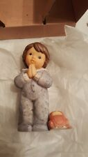 Pair Goebel by Julia Limpke Figurine Nina & Marco, Little Wishes Pray with Me