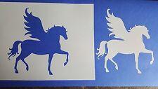 Schablonen 251 Pferd Flügel Wandtattoo Vintage Stanzschablone Shabby Szencil