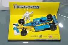 Minichamps F1 1/43 RENAULT R202 MICHELIN LIMITED EDITION 1008 pcs JENSON BUTTON