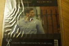Pair Scissor Sisters Collectors Picture Discs Unusual Square Editions Unplayed