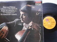 Elgar and Walton Cello Concertos Kirshbaum SNO Gibson