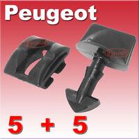 PEUGEOT PARTNER 306 UNDERTRAY CLIPS ENGINE COVER SPLASHGUARD FIXING FITTING
