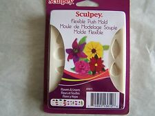 Push Molds Clay Sculpey Flowers & Leaves
