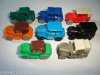 VINTAGE MODEL CARS COLLECTION 1920's SET 1:87 H0 - KINDER SURPRISE MINIATURES