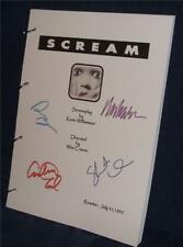Movie Script - Signed - Scream - Cox Barrymore Craven