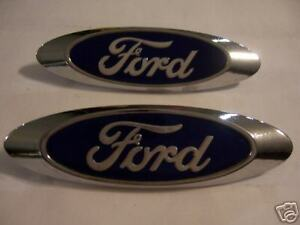 NOS Ford Blue Oval Ford GT40 Emblems Mint Rare!