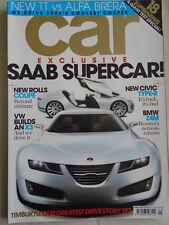 Car Apr 2006 Audi TT vs Alfa Romeo Brera, BMW Z4M vs Boxster S