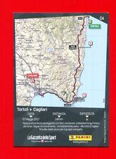 100° GIRO D'ITALIA -Panini 2017-Figurina-Sticker n. CARD C4 - 3° TAPPA -New