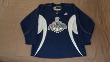 NHL Stanley Cup 2007 Blue Reebok Pepsi Men's Size Large Hockey Jersey