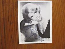 RUTA  LEE (High Rollers/7 Brides for 7 Brothers)Signed  4 x5  B&W Photo/Postcard