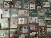 Football Hot Pack 1 Auto or Used/Worn Jersey Patch + 10 Rookies RCs Guaranteed