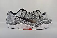 NEW Nike Kobe XI 11 Elite Low OREO BLACK WHITE BEETHOVEN FTB 822675-100 sz 11