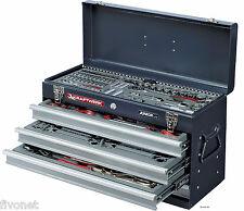 PROFI Werkzeugkoffer 100-tlg Ratschenkasten Werkzeugkasten KRAFTWERK 1046 robust