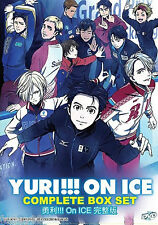Anime DVD Yuri !!! On Ice Vol. 1 - 12 End Complete Japanese Animation Box Set