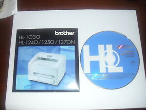 Brother HL-1200 series Printer Drivers & Utilities for Windows & Mac OS