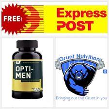 Optimum Nutrition Opti-men 90 Tablets Multi Vitamin Optimen