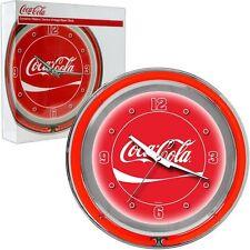 Classic Coca-Cola Neon Game Room Coke Clock