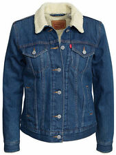 Levi's Damen-Jeansjacken aus Denim mit Knöpfen