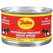 jamaican tastee cheese processed vitamins nutricious cheddar cheese  250g