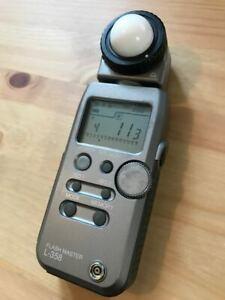 Sekonic Flash Master L-358 incident light meter - full working order
