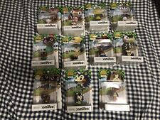 Animal Crossing Amiibo figures digby, kicks, mabel, timmy tommy tom nook & other