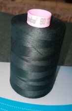 AMANN SABA 80s SEWING THREAD, 100% SPUN POLYESTER 5000 MTRS X 5 CONES, FREE P&P