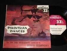 CORONET 1950s EP KGC-103 POLOVTSIAN DANCES