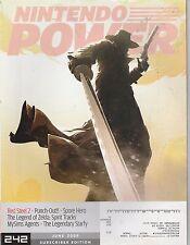 JUNE 2009 -  NINTENDO POWER video game magazine RED STEEL 2