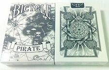 Bicycle Pirate Playing Cards by Eric Duan & Honey Zhang original WHITE deck