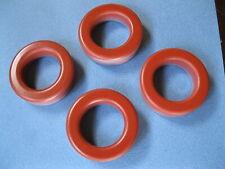 4 x Eisenpulver Ringkerne TYP T200-2 - T200-2 Ferrite Core 2-30Mhz