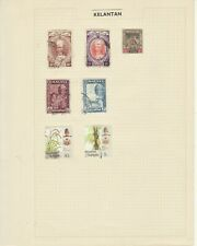 MALAYAN Collection on 11 pages used, worth a LOOK!!