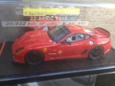 BBR BBRC43 FERRARI 599XX NURBURGRING RECORD 2010 RED LIMITED 200 PIECES 1/43