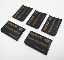 5Pcs Genuine Sandisk MicroSD TF to MS Pro Duo Card Adapter Reader for PSP 1000